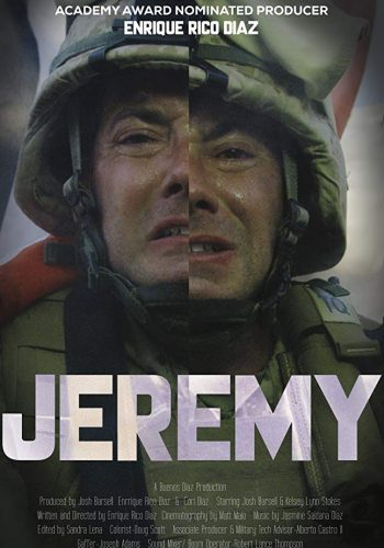 Poster of Award-Winning Film Jeremy. Sandra Lena Proudly Nominated for Best Editing at the Top Indie Film Awards
