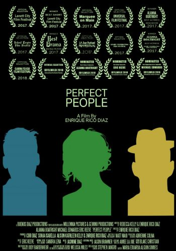 Award-Winning Film Perfect People. Sandra Lena Proudly Nominated for the Mary Austin Award in Excellence in Editing at the Idyllwild International Festival of Cinema (IIFC)