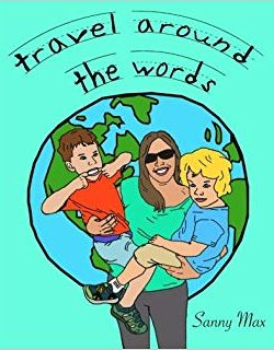 Sandra Lena published author and video editor writer of children's learning book Travel around the words