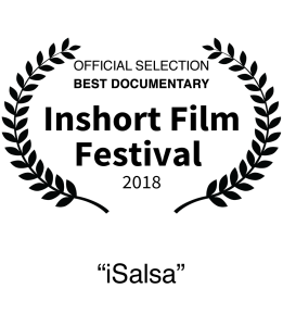 Nominee 2018 In short Film Festival Best Documentary iSalsa